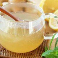 Имбирный напиток от простуды.»>